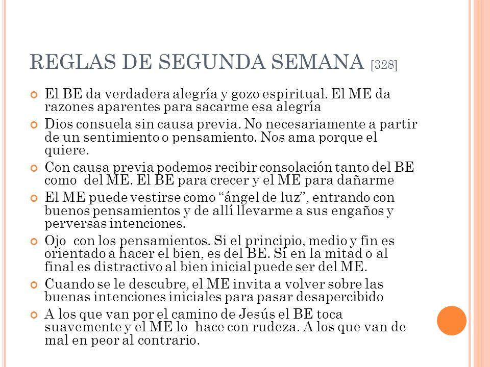 REGLAS DE SEGUNDA SEMANA [328]